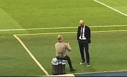 Pep Guardiola tiet lo noi dung cuoc noi chuyen rieng voi than tuong Zidane