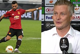 VIDEO: Solskjaer: Bruno da penalty tot hon toi nhieu