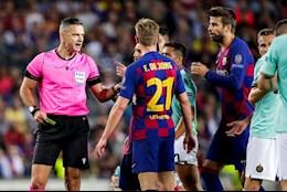 Lo dien trong tai bat chinh tran Barca vs Bayern Munich