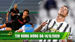 TIN NONG BONG DA 14/8 | Bat tay Atalanta Atletico roi C1 cay dang | Ronaldo bi rao ban cho Barca
