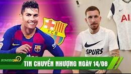 TIN CHUYEN NHUONG 14/8: Ronaldo se hoi ngo Messi tai Barca,Tottenham kich hoat bom tan dau tien