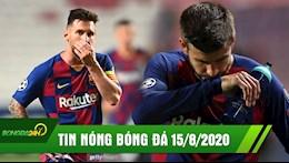 TIN NONG BONG DA 15/8: Barca tham bai 2-8, cui dau roi C1; Pique muon roi Barca sau tran thua dau