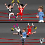 Biem hoa: Ronaldo va Lewandowski bi cuop giay vang, Arsenal an mung FA Cup