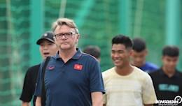 DT U19 Viet Nam lua chon loi choi kiem soat bong