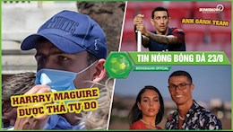 Tin nong bong da 23/8: Ronaldo va ban gai khoa moi tinh cam; Di Maria tu tin khi duoc da CK