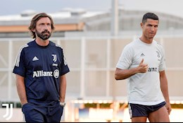 Ronaldo va cac dong doi gay an tuong trong buoi tap dau cung HLV Pirlo