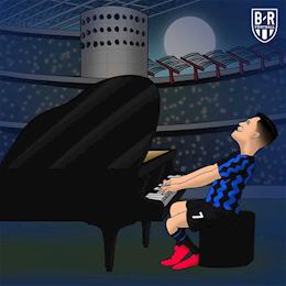 Biem hoa: Alexis Sanchez roi MU de sang Inter... choi dan
