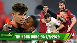 TIN NONG BONG DA 7/8: Sevilla the hien dang cap ung vien vo dich, Bayer de dang vao tu ket C2