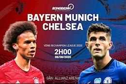 Truc tiep bong da Bayern Munich vs Chelsea 2h00 ngay 9/8