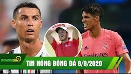 TIN NONG BONG DA 8/8: Ronaldo ganh cong lung, Juve bi loai cay dang; Varane mac sai lam, Real roi C1