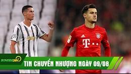 TIN CHUYEN NHUONG 9/8: Arsenal dat thoa thuan chieu mo Coutinho, Tuong lai cua Ronaldo duoc xac dinh