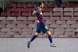 Ket qua cup C1 Barca vs Napoli: Messi, Suarez toa sang