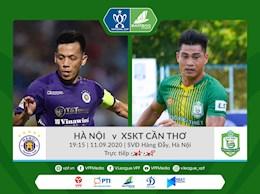 Xem truc tiep bong da Ha Noi vs Can Tho Cup quoc gia 2020