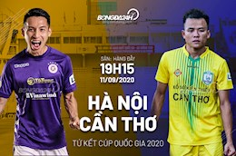 Huy diet Can Tho toi ... 7-0, Ha Noi cham tran TPHCM o ban ket Cup quoc gia 2020