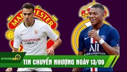 TIN CHUYEN NHUONG NGAY 13/9: Real chot ngay mua Mbappe, Man United gap kho thuong vu Sergio Reguilon