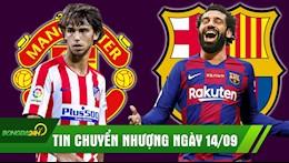 TIN CHUYEN NHUONG 14/9: MU vung tien tan mua tieu Ronaldo; Salah se sat canh cung Messi tai Barca?