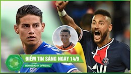 DIEM TIN SANG 14/9: PSG thua tran thu 2 trong tran dau co mua the do; khoi dau te hai Mourinho do loi hoan canh
