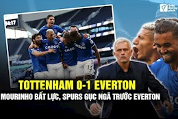 VIDEO: Tottenham 0-1 Everton: Mourinho bat luc, Spurs guc nga truoc Everton Nam My