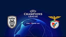 Nhan dinh bong da PAOK vs Benfica 1h00 ngay 16/9 (Champions League 2020/21)