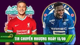 TIN CHUYEN NHUONG 15/9: Chua dung lai, Chelsea don tan binh thu 8; Liverpool mac ca de mua Thiago gia re