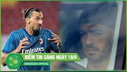 DIEM TIN SANG 18/9: Ibrahimovic giai con khat ban thang sau 3000 ngay; Suarez co mat o Italia de ra mat Juventus
