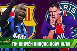 TIN CHUYEN NHUONG 19/9: Barca hoi mua tien dao Inter; Khong sang duoc Juve, Suarez gia nhap PSG?