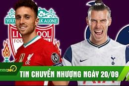 TIN CHUYEN NHUONG 20/9: Sau Thiago, Liverpool ky sieu tien dao tre; Real chinh thuc gach ten Bale