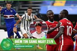 ĐIỂM TIN SÁNG 21/9: Ronaldo khai hỏa, Juve thắng dễ; Chelsea thua trắng ĐKVĐ trên sân nhà