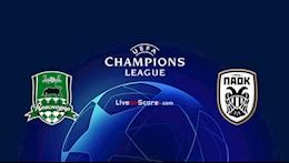 Nhan dinh bong da Krasnodar vs PAOK 2h00 ngay 23/9 (Champions League 2020/21)