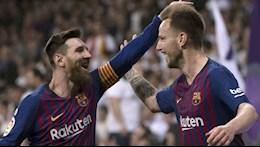 Rakitic thua nhan chua bao gio than thiet voi Messi o Barca