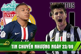 TIN CHUYỂN NHƯỢNG 23/9: Liverpool chiến Real vì Mbappe; Lườm Suarez, Juve gắp Morata