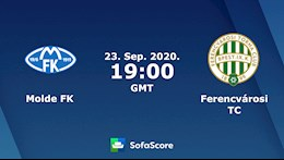 Nhan dinh bong da Molde vs Ferencvaros 2h00 ngay 24/9 (Champions League 2020/21)