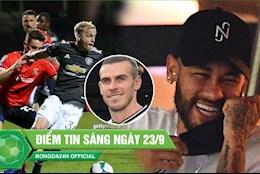 DIEM TIN SANG 23/9: MU de dang vao vong 4 Cup Lien doan; Neymar phan biet chung toc voi sao chau A