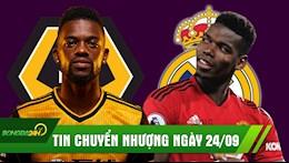 TIN CHUYEN NHUONG 24/9: May chay Barca gia nhap Ngoai Hang Anh; Zidane hoi thuc Real mua Pogba
