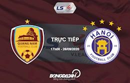 Link xem truc tiep Quang Nam vs Ha Noi (Vong 12 V.League 2020)