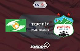Link xem truc tiep SLNA vs HAGL tren kenh VTV6, VTV5 (Vong 12 V.League 2020)