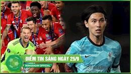 DIEM TIN BONG DA 25/9: Bayern nguoc dong danh sieu cup, Minamino thang hoa giup Liverpool thang huy diet