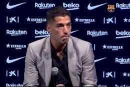 VIDEO: Khoanh khac Luis Suarez khong kim duoc nuoc mat trong ngay chia tay Barca