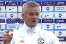 """VIDEO: Solskjaer: """"MU may mắn vì Mourinho không ở đó để đo lại khung thành"""""""