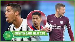 DIEM TIN BONG DA SANG 28/9: Ronaldo toa sang giup Juventus thoat hiem; Vardy lap Hattrick nghien nat Man City