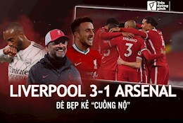 Liverpool 3-1 Arsenal: De bep ke cuong no