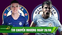 TIN CHUYEN NHUONG 29/9: Man City kich no bom tan; Chelsea tiep tuc mua sieu trung ve