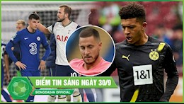 TIN NONG BONG DA 30/9: Mount sam vai toi do khien Chelsea thua dau; Marco Reus lam sang to tuong lai Sancho