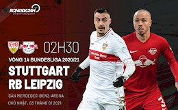 Nhan dinh bong da Stuttgart vs Leipzig 2h30 ngay 3/1 (Bundesliga 2020/21)