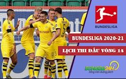 Lich thi dau vong 14 Bundesliga 2020/21 moi nhat cuoi tuan nay