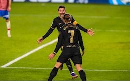 Video bóng đá Granada vs Barca: Griezmann và Messi tỏa sáng