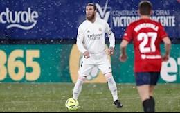 Video bóng đá Osasuna vs Real Madrid: Barca phả hơi nóng
