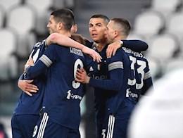 Choi hon nguoi, Juventus thang de de tro lai Top 4 Serie A 2020/21