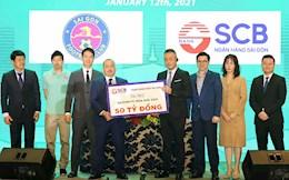 CLB Sai Gon nhan duoc tren 100 ty tai tro o mua giai 2021