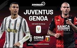Nhan dinh bong da Juventus vs Genoa 2h45 ngay 14/1 (Cup quoc gia Italia 2020/21)